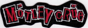 Motley Crue Rock Music Patch -Red and White