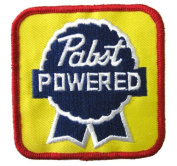 Pabst Powered Patch Iron On Beer