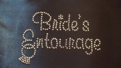 Bridal Entourage Ring Rhinestone Iron On Design (Available in Spanish) by Jeannies Rhinestone World
