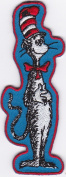 Dr. Seuss The Cat in the Hat Iron On/Sew On Embroidered Patch