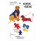 Kwik Sew K3207 Coats and Toys Sewing Pattern, Size XS-S-M-L-XL