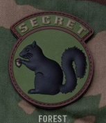 Mil-Spec Monkey Secret Squirrel PVC Patch-Forest