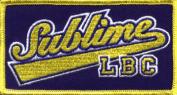 Sublime Music Band Patch - Baseball Name Logo