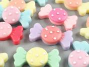 24pcs Resin Candy Flatback Appliques Craft DIY Craft -