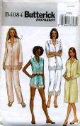 Butterick Pyjamas, Top, Nightshirt, Panties and Pants Sewing Pattern #B4084