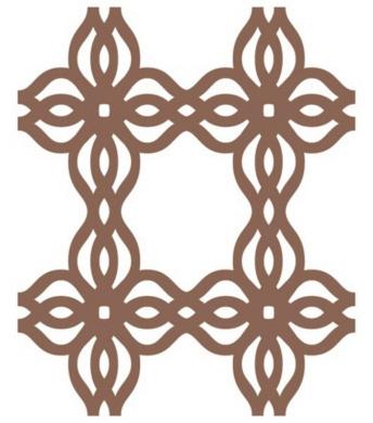 Jeaneology Iron-Ons-Braid Flock