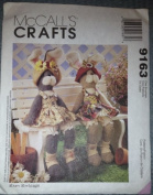 McCall's Crafts Pattern 9163 Boy And Girl Bunnies