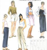 McCalls Pattern 4063 Slim Pants 5 Lengths Size Y XS-M