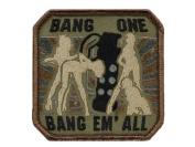 "Mil-Spec Monkey ""Bang One, Bang Em All"" Patch -"