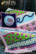 Miss Modd Cosy Quilt & Pillow #26 Pattern By Pink Fig