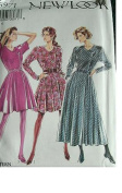 MISSES DRESS WITH VARIATIONS SIZE 8-10-12-14-16-18 NEW LOOK BY SIMPLICITY 6971