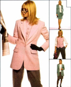 Misses Jacket Vest Pants Skirt McCall's 9008 Sewing Pattern Size 8 Bust 31 1/2