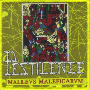 PESTILENCE-MALLEUS MALEFICARUM-WOVEN PATCH