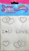 Shimmer & Shine Iron-On Appliques - Heart / Love