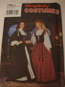 Simplicity Costumes #8855 Size HH 6,8,10,12