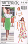 Butterick 6139 Fast & Easy Dresses