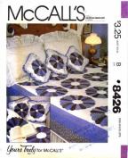 McCall's 8426 Sewing Pattern Quilt Pillow Package