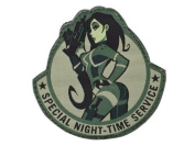 """Mil-Spec Monkey """"Special Night hook and loop Patch - ACU"""