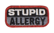 "Mil-Spec Monkey ""Stupid Allergy hook and loop Patch - SWAT"