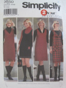 Simplicity Pattern 5850 Misses' Pullover Jumpers and Bag Sizes 12-20