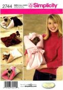 Simplicity 2744 Sewing Pattern Dog Carrier Bed Beret Bonnet