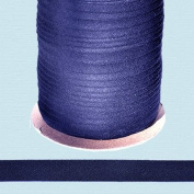 Bias Tape ~ 1.3cm Wide Double-fold Bias Tape ~ NAVY ~ Poly Cotton