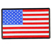 Hot Leathers American Flag Reflective Patch