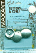 Maxant Button 3-Pack Cover Button Refill, 2.9cm