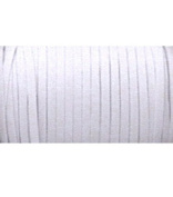 Braided Elastic 0.6cm Wide 144 Yards - White