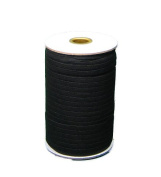 Braided Elastic 0.6cm Wide 144 Yards - Black