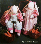 Simplicity 7599 Crafts Sewing Pattern Bunny & Wardrobe