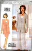 Butterick Sewing Pattern 3950 Misses' Tunic, Top, Skirt & Pants, Size 12 14 16