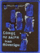 Depeche Mode - Songs - Iron on or Sew on Embroidered Patch