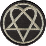 HIM Heartagram Patch