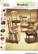 Simplicity 7749 Sewing Pattern Chair Pads Table Placemats