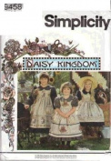 Simplicity Pattern #9458 - Daisy Kingdom Child's Dress and Pinafore - Size BB 5-8