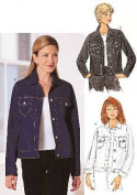 Butterick 6376 Sewing Pattern Misses Petite Jacket Size 6 to 10