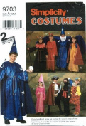 Simplicity 9703 Sewing Pattern Girls & Boys Costumes Size S - M - L