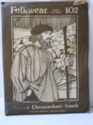 Folkwear Pattern 102, French Cheesemaker's Smock Men and Women All Sizes