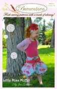 Bananafana Little Miss Muffet Pattern By The Each