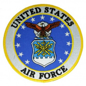 Embroidered Air Force Logo Patch 13cm