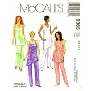 McCall's 9363 Sewing Pattern Misses' Tunic & Pull-on Pants Size 8, 10, 12