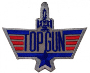Top Gun USN United States Navy Iron on Shoulder Patch D4