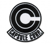 Dragonball Z Capsule Corp Patch GE-4297