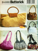 OOP Butterick Pattern B4088 or 4088. Handbags in 6 Styles