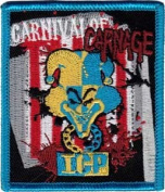 Insane Clown Posse ICP Rock Music Band Novelty Iron On Patch - Carnival of Carnage Applique