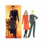 1990s Misses Jacket Skirt Pants Simplicity 8850 Sewing Pattern Size 16 - 18 - 20 - 22