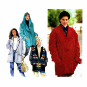1990s Misses Set of Jackets Simplicity 9477 Sewing Pattern Full Figure Size 18 - 20 - 22 - 24