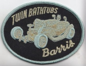 Barris Twin Bathtubs Collectible Patch