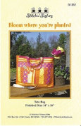 Bloom Where You're Planted Tote Bag Pattern